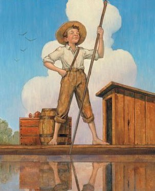 Make Your Own Kids Fishing Pole – Huck Finn Style!